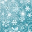 Royalty-Free Stock Vector Image: Background with snowflakes