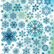 Background with snowflakes — Stock Vector #5687150