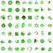 Set of 72 icons and design-elements — Stock Vector