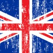 Uk flag — Vector de stock #5714768