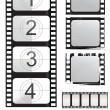 Stock Vector: Film strip