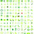 Vector icon set — Stock Vector