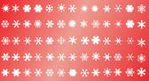 Snowflake background — Stock Vector
