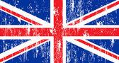 Flaga wielkiej brytanii — Wektor stockowy