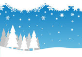 Chirstmas background — Stock Vector