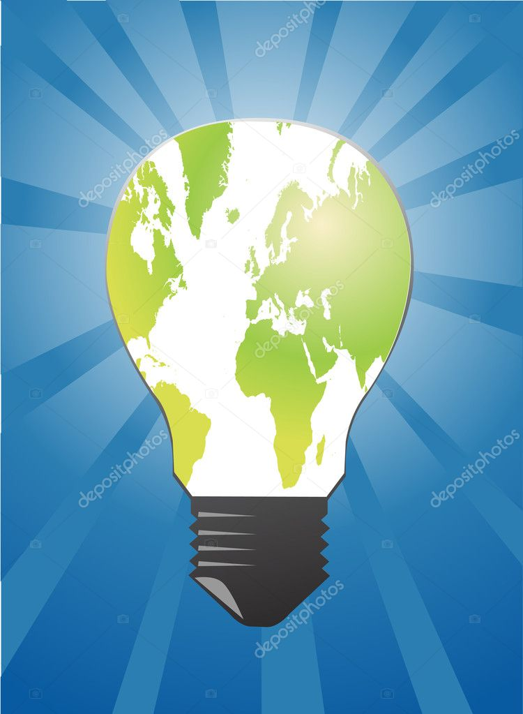 Light bulb — Stock Vector #5715103