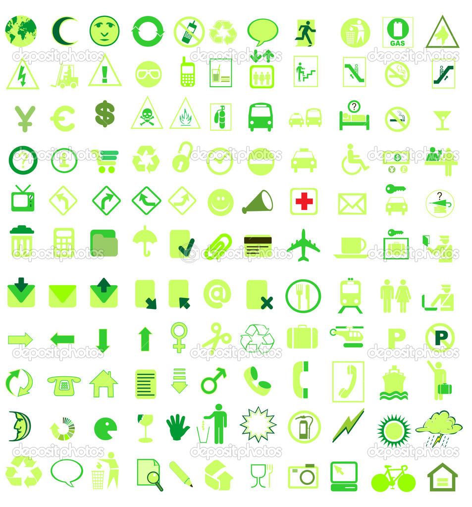 Vector icon set — Stock Vector #5715109