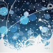 Chirstmas background — Stock Vector #5965696