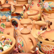 Stock Photo: Folk art, ceramics, tableware