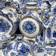 Folk art, ceramics, tableware — Stock Photo
