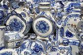 Folk art, ceramics, tableware — Stock Photo