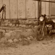 Old motorbike — Stock Photo #6024202