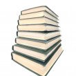 Old books stack — Stock Photo