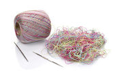 Multicolored threads — Stock Photo