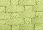 緑の手作り籐テクスチャ背景 — ストック写真