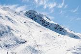Mountain winter view (Chamonix, France) — Stock Photo