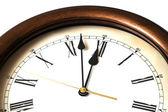 Macro of antique watch — Stock Photo