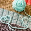 Knitting - hobbies from heart — Stock Photo #6025877