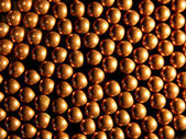Copper balls — Stock Photo