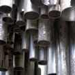 Monument, Sibelius, pipes, metal, Helsinki, sight, music, body, — Stock Photo