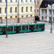 Royalty-Free Stock Photo: Tram in the street Helsinki, Finland