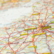 Stock Photo: Map paris