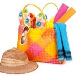 Beach bag — Stock Photo