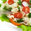 Close-up of Healthy Fresh Salad — Foto Stock