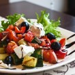 Greek salad — Stock Photo #5932822