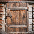 Wooden door — Stock fotografie #6481093