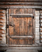 Wooden door — Foto Stock