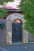Mansion entrance — Stock Photo