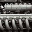 Royalty-Free Stock Photo: Twelve cylinder engine
