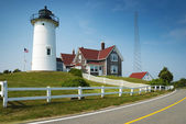 Nobska lighthouse — Stock Photo