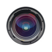 Camera lens, isolated — Stock Photo
