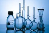Chemisches labor glasbehälter — Stockfoto