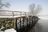 Old north bridge in Concord — Stock Photo