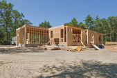 New house under construction — Stock Photo