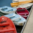 Row boats — Stock Photo
