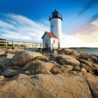 Annisquam lighthouse — Stock Photo