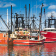 Stock Photo: Commercial fishing boats