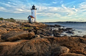 Annisquam lighthouse — Stock Photo