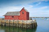 Motif #1, fisherman's shack — Stock Photo