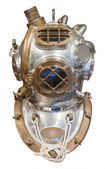 Diving helmet, isolated — Stock Photo