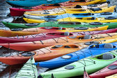Kayaks — Foto de Stock