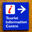 Tourist information Sign — Stock Photo #5669882