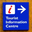 Tourist information Sign - Stock Photo