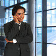 Businessman Chatting On The Phone — Stock Photo