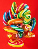 Multicolored Tasty Sticky Candy — Stock Photo