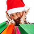 Royalty-Free Stock Photo: Many Purchases After A Christmas Shopping Spree